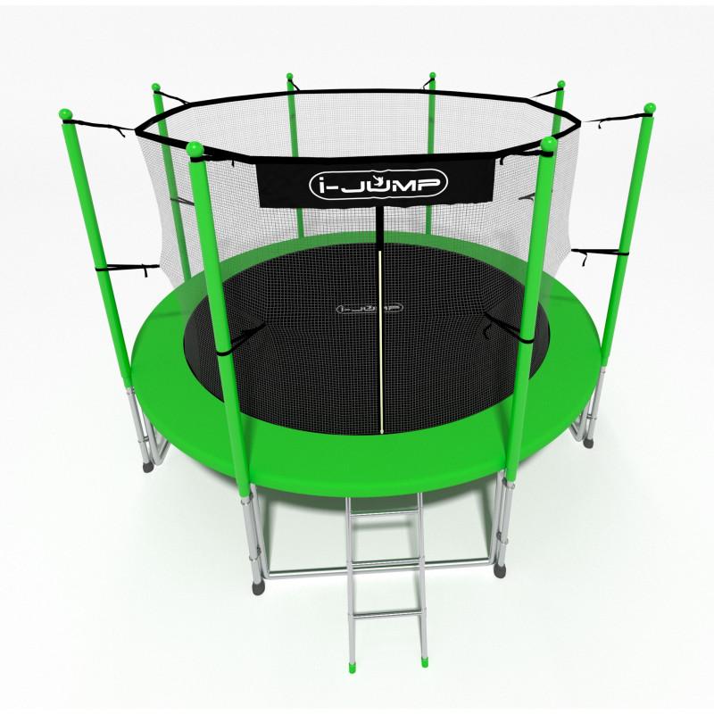 Батут i-JUMP 10ft green