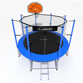 Батут i-JUMP Basket 14ft blue