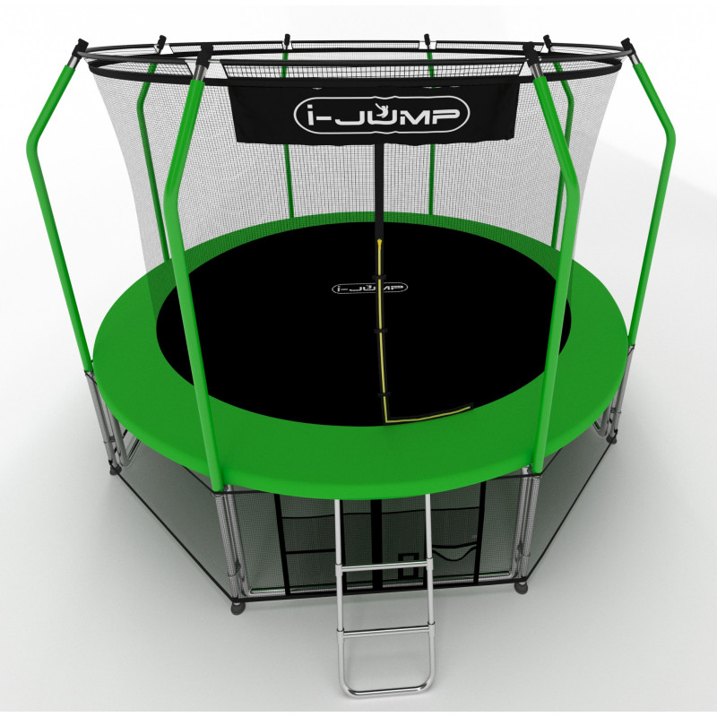 Батут i-JUMP Elegant 10ft green