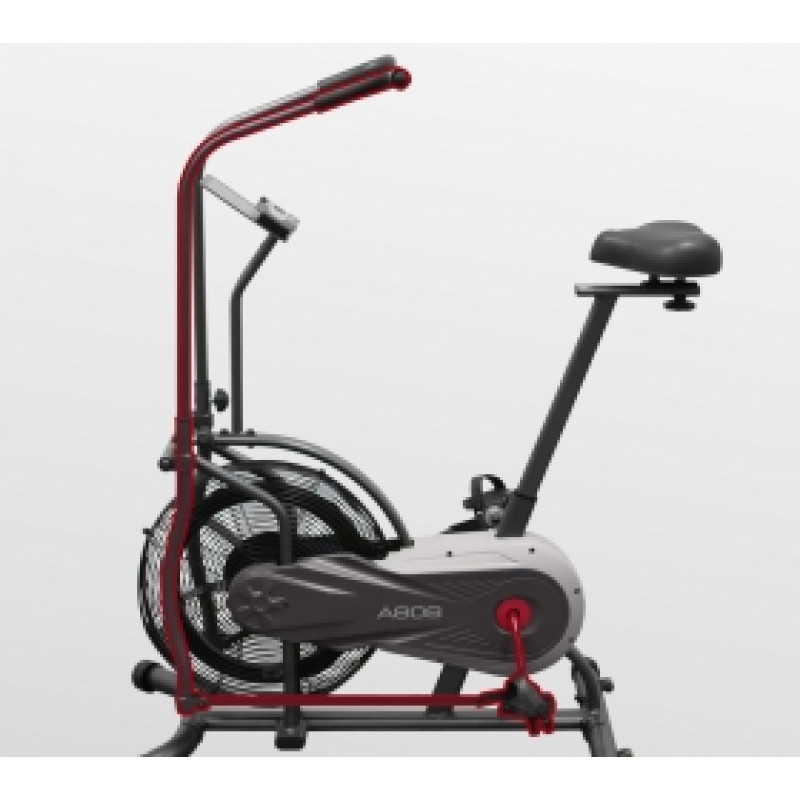Велотренажер (Assault Bike) CARBON FITNESS A808