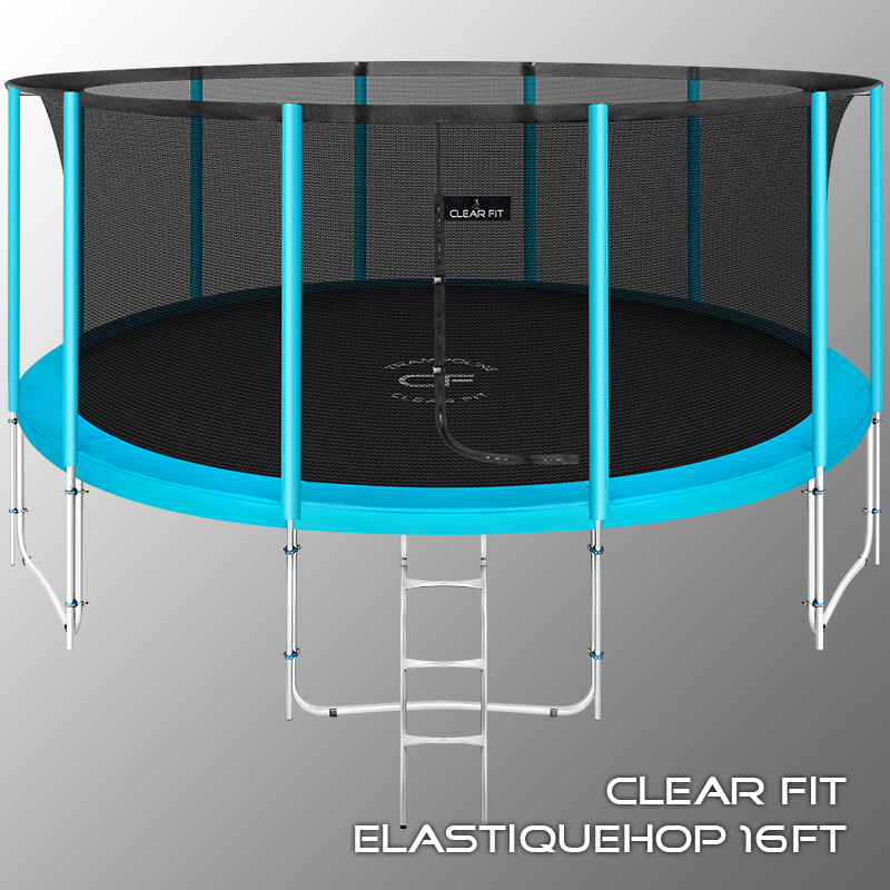 Батут Clear Fit ElastiqueHop 16Ft