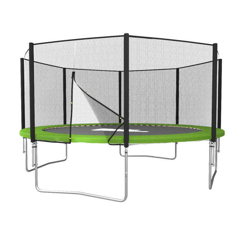 Батут UNIX line Simple 12 ft Green (outside)